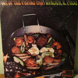 Wynder K Frog's Out Of The Frying Pan LP