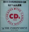 The Independent On Sunday recommended retailer