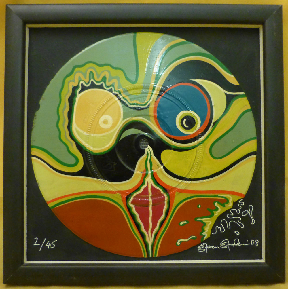 Nurse With Wound / Steven Stapleton Framed 7 Inch Single Painting